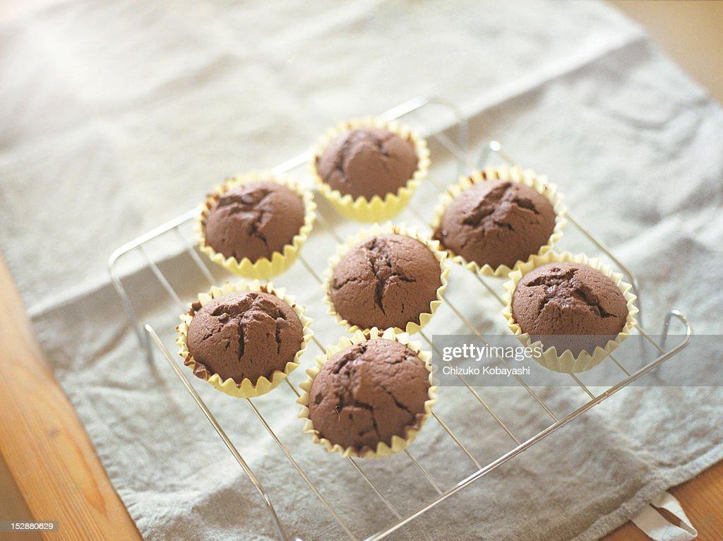 Chocolate muffin : Stock Photo