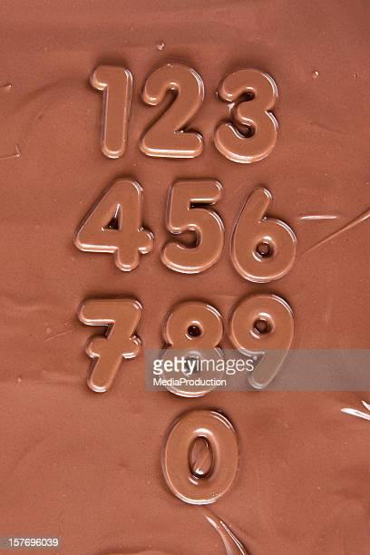 Schokolade-Nummern