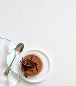 Chocolate Panna Cotta Dessert