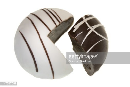 Chocolate pie chart : Stock Photo
