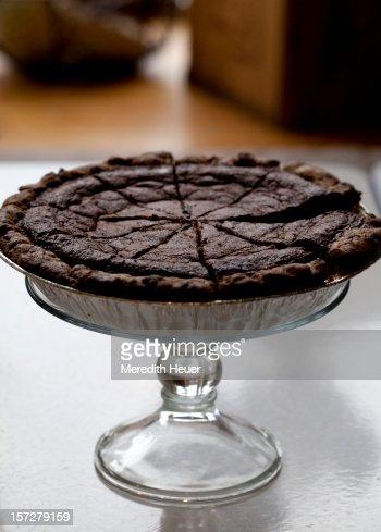 chocolate pie : Bildbanksbilder