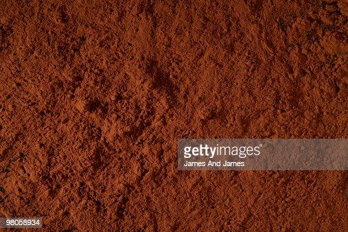 Chocolate Powder Surface