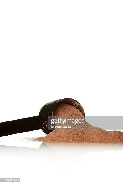 Schokolade protein Pulver