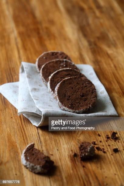 Chocolate Sable - Shortbread Cookies