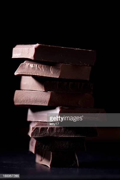 Pile de chocolat