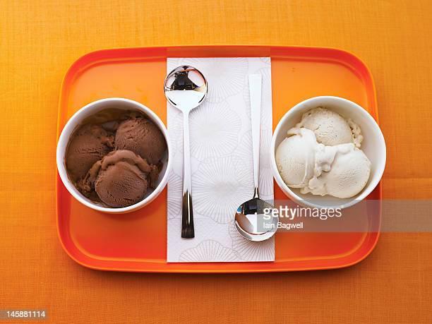 Chocolate & Vanilla Gelato