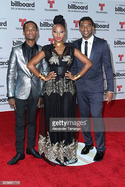 Chocquibtown attend the Billboard Latin Music Awards at Bank United Center on April 28 2016 in Miami Florida