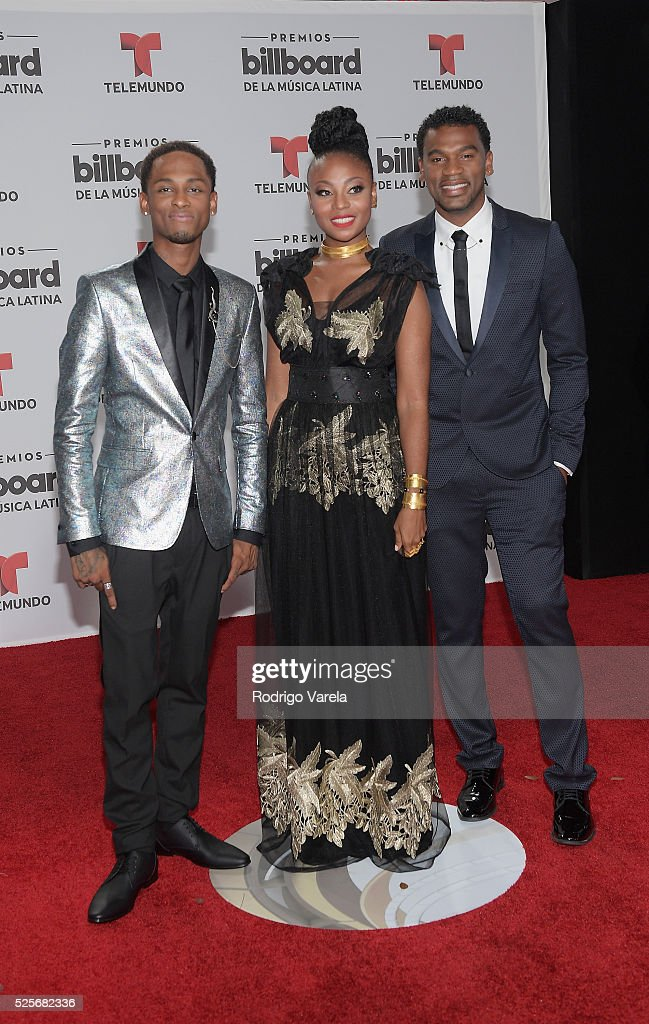 Chocquibtown attend the Billboard Latin Music Awards at Bank United Center on April 28, 2016 in Miami, Florida.