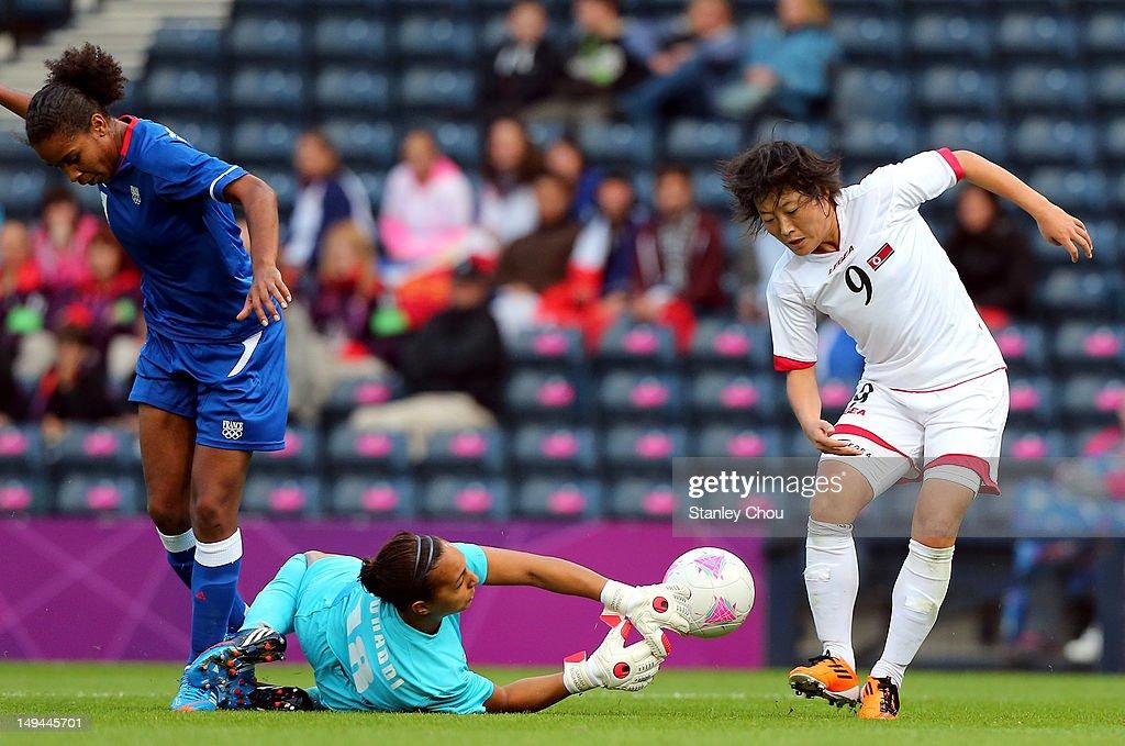 Olympics Day 1 - Women's Football - France v Korea DPR