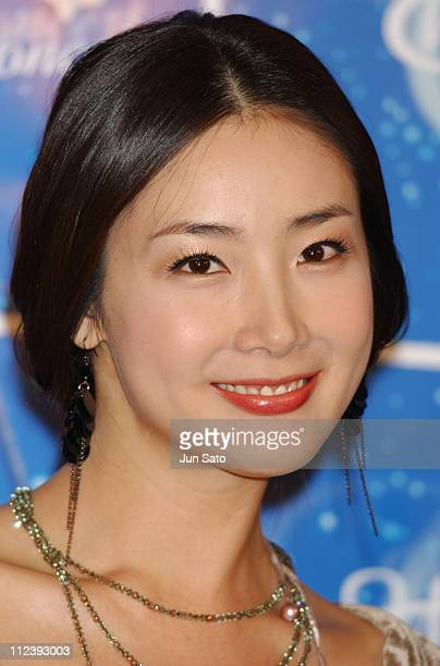 Choi Ji Woo during 'Winter Sonata' Classical Concert Press Call at Bunkamura Orchard Hall in Tokyo Japan