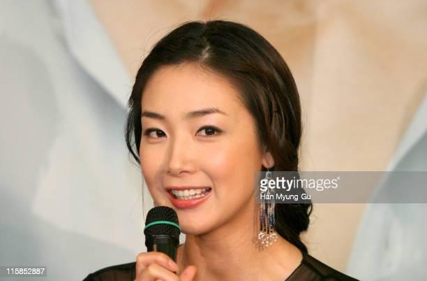 Choi JiWoo during 'Everybody Has A Secret' Seoul Press Screening at Seoul Cinema in Seoul City Seoul South Korea