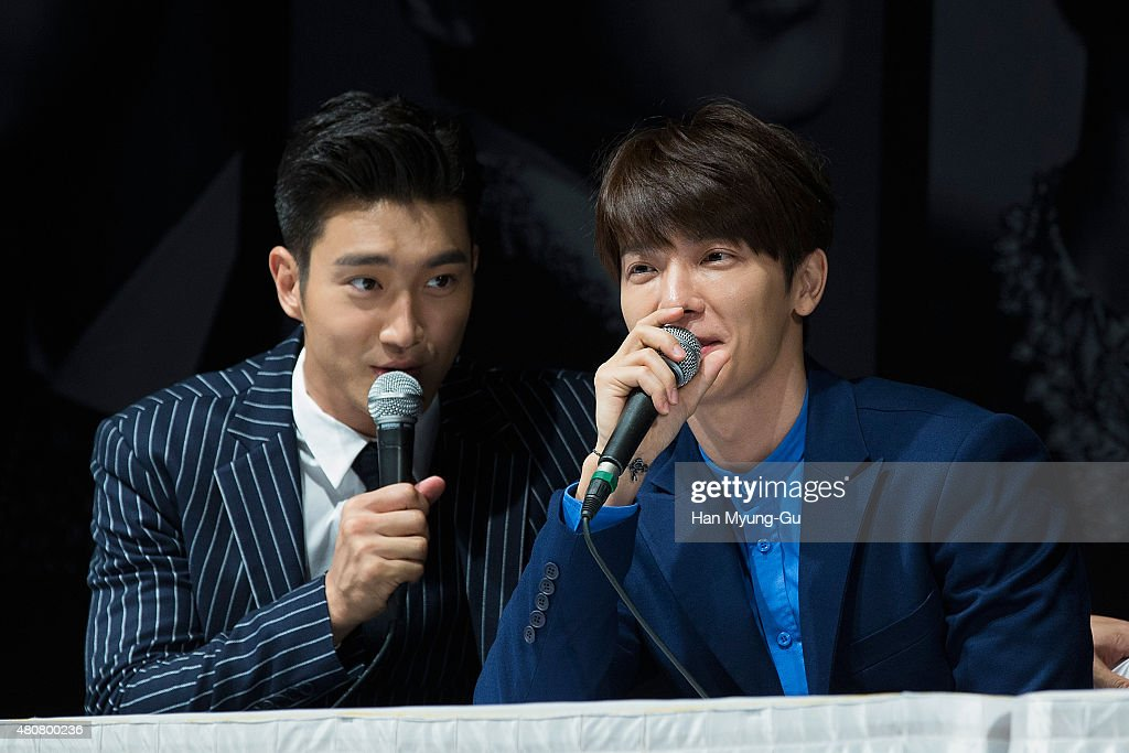 Donghae-si South Korea  city photos gallery : Choi Si Won Siwon and Donghae of South Korean boy band Super Junior ...