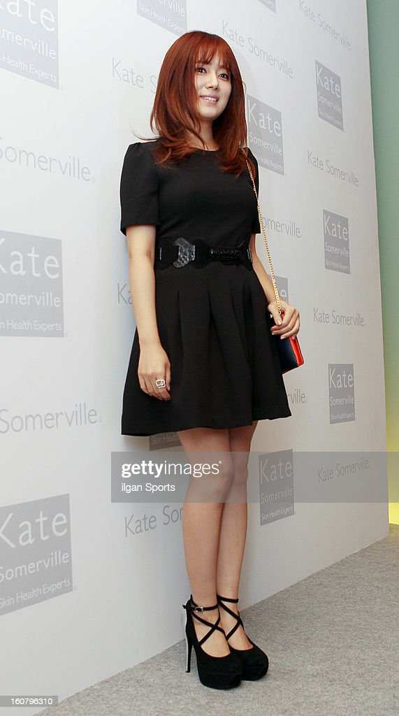 Choi Song-Hyun attends the 'Kate Somerville' Launch Event at Park Hyatt Seoul on February 5, 2013 in Seoul, South Korea.
