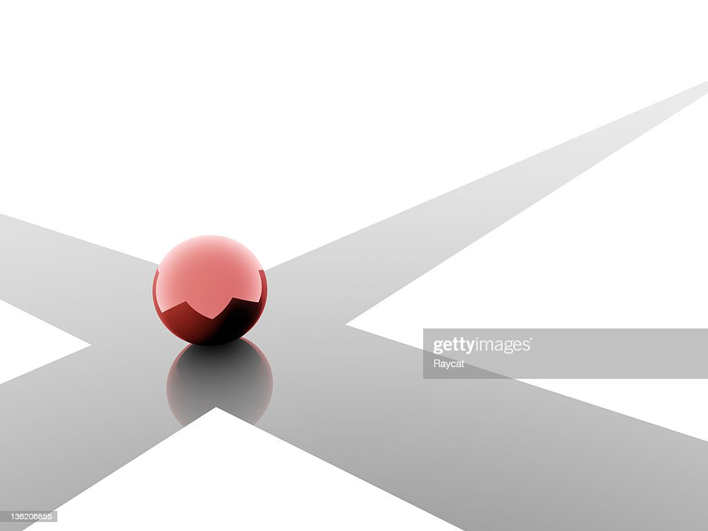 Choice in red : Stock Photo