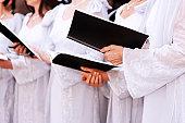 Choir. Color Image