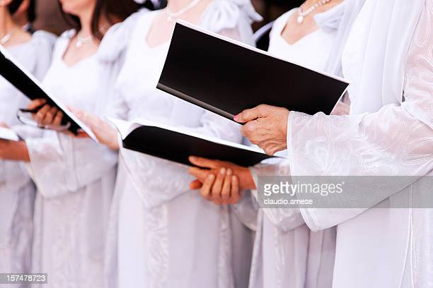 Choir. Color Image