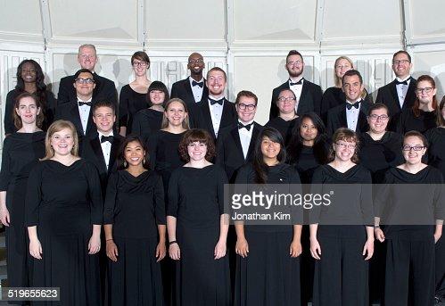 Choir group portrait