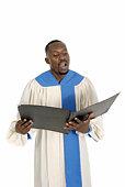 Choir Member Singing 1