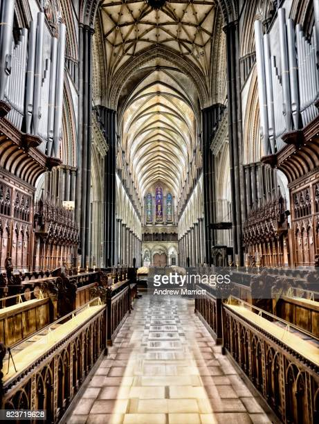 Choir of Salisbury Cathedral