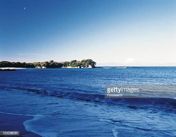 Chojagasaki Cape, Shonan, Kanagawa Prefecture, Japan, Front View, Pan Focus