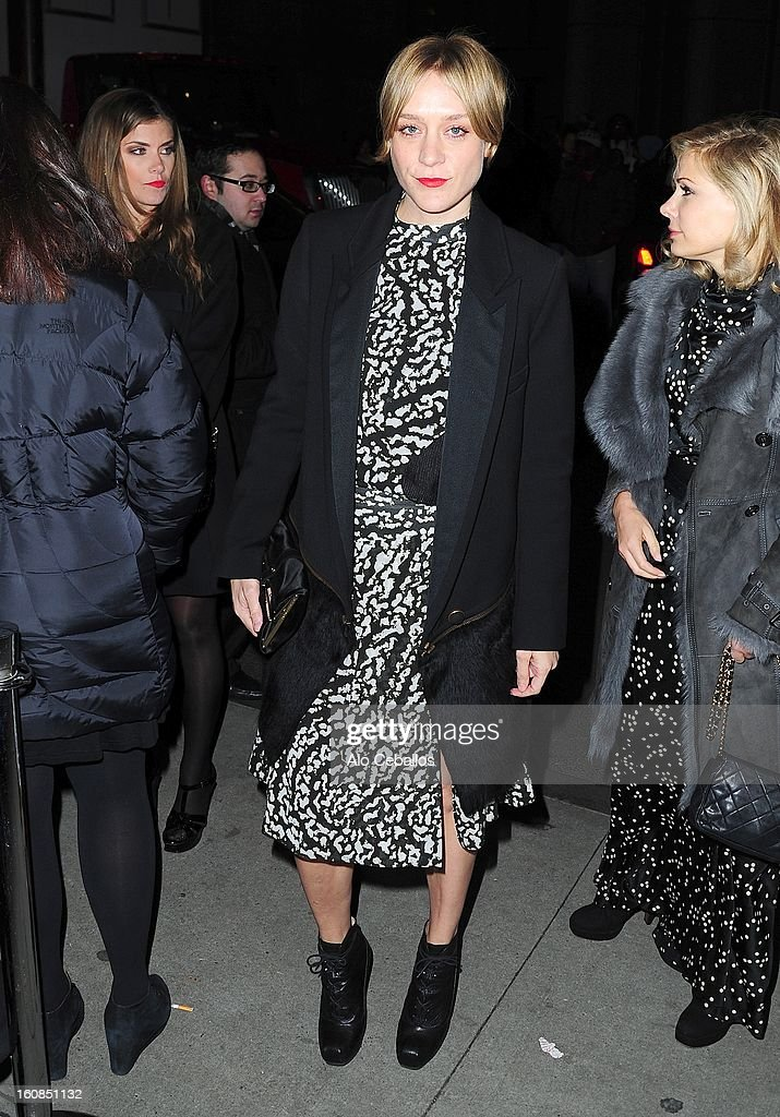 Chole Sevigny sighting on February 6, 2013 in New York City.