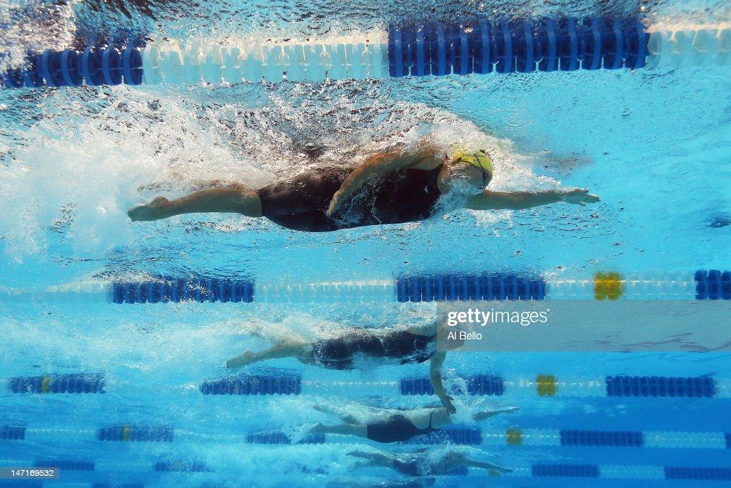 2012 U.S. Olympic Swimming Team Trials - Day 2