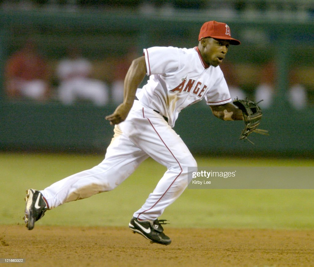 Texas Rangers vs Anaheim Angels - July 28, 2004