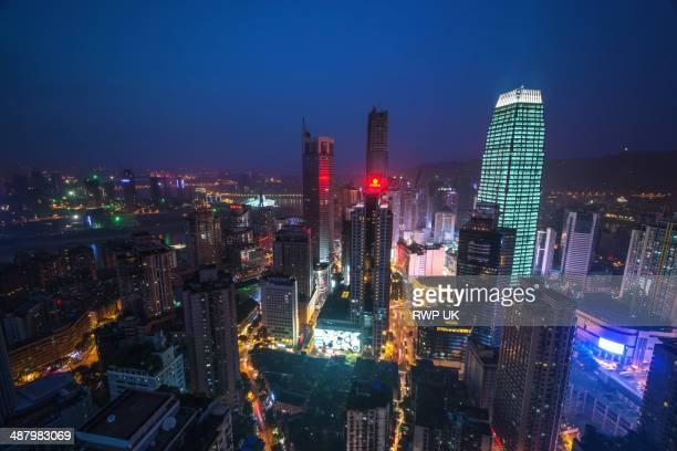Chongqing Cityscape, Night