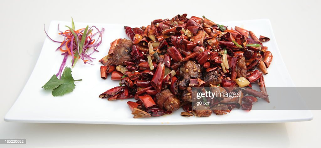 Chongqing lazi chicken