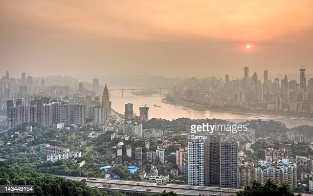Chongqing from Yi Ke Shu Observation
