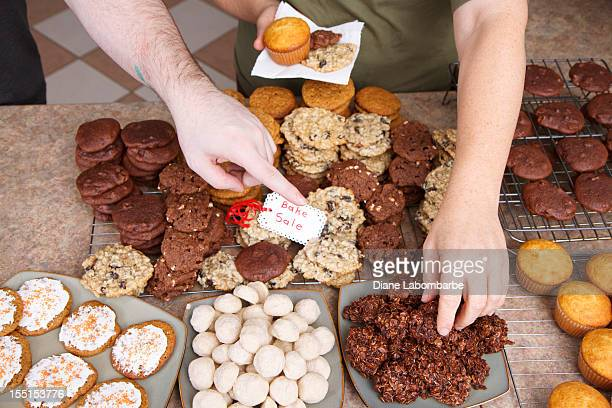 Choosing Cookies At A Bake Sale