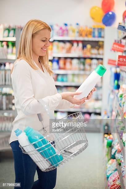Choosing liquid detergent