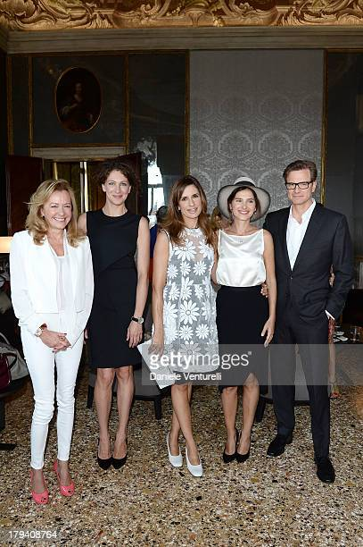 Chopard copresident and artistic director Caroline Scheufele jury member Ksenia Rappoport Livia Firth actress and jury member Virginie Ledoyen and...
