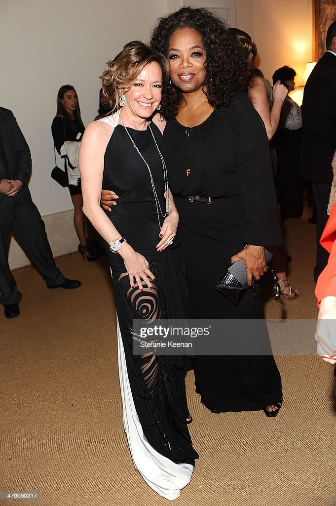 Chopard Co-President and Creative Director Caroline Scheufele (L) and actress <a gi-track='captionPersonalityLinkClicked' href=/galleries/search?phrase=Oprah+Winfrey&family=editorial&specificpeople=171750 ng-click='$event.stopPropagation()'>Oprah Winfrey</a> attend The Weinstein Company Academy Award party hosted by Chopard on March 1, 2014 in Beverly Hills, California.