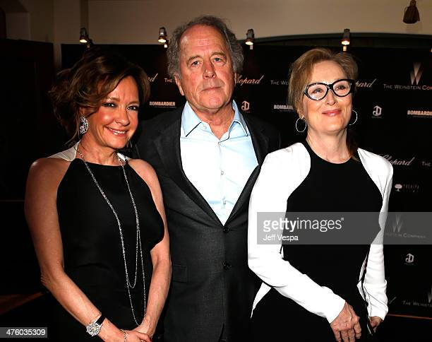 Chopard CoPresident and Creative Director Caroline Scheufele sculptor Don Gummer and actress Meryl Streep attend The Weinstein Company's Academy...