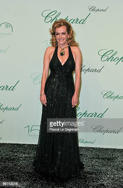 Chopard CoPresident Caroline GruosiScheufele attends the Chopard 150th Anniversary Party at Palm Beach Pointe Croisette during the 63rd Annual Cannes...