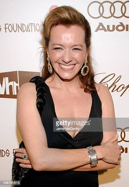 Chopard President Caroline GruosiScheufele during 14th Annual Elton John AIDS Foundation Oscar Party Cohosted by Audi Chopard and VH1 Red Carpet at...