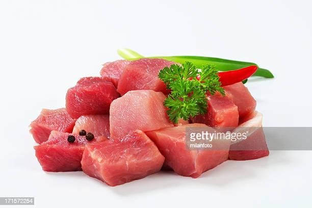 Gehacktem Rindfleisch Fleisch für Gulasch