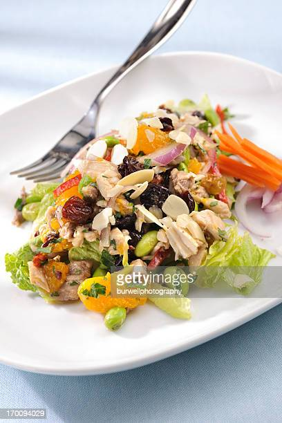 Chopped Chicken Salad with Citrus and edamame