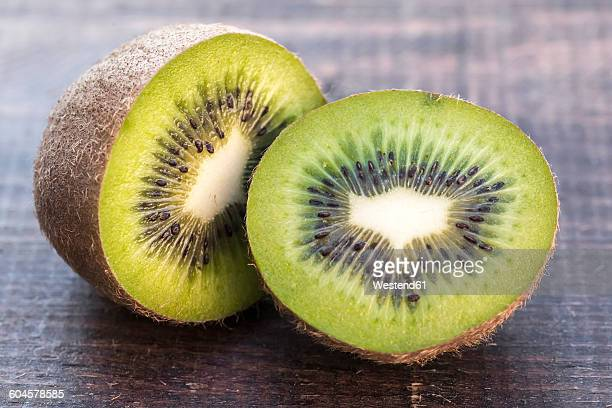 Chopped kiwi, close-up