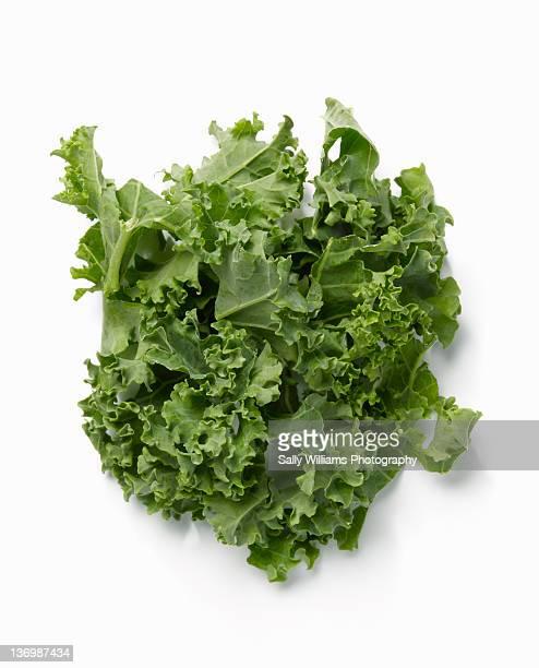 Chopped raw kale