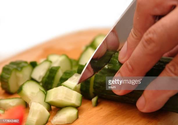 Tagliare a pezzetti vegatables