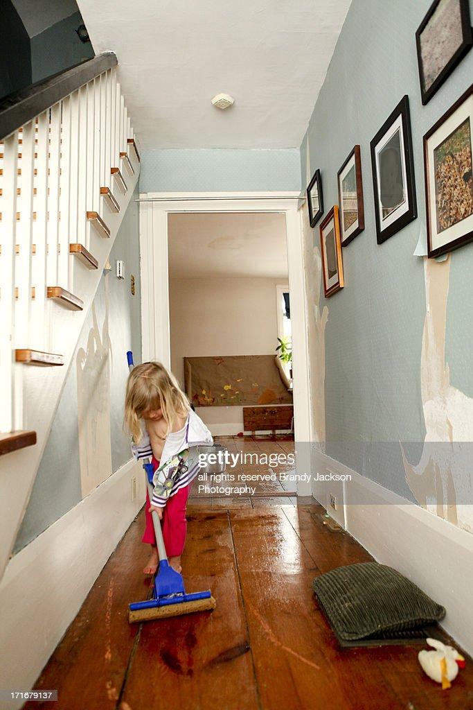 Chore time : Stock Photo