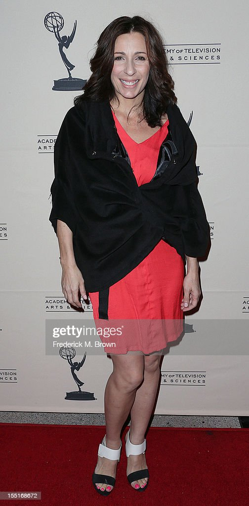 Choregrapher Tabitha D'Umo attends The Academy of Television Arts & Sciences' Presents 'The Choreographers: Yesterday, Today and Tomorrow at the Leonard H. Goldenson Theatre on November 1, 2012 in North Hollywood, California.