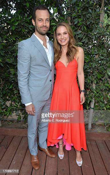 Choreographer Benjamin Millepied and actress Natalie Portman attend Benjamin Millepied's LA Dance Project Inaugural Benefit Gala on June 20 2013 in...