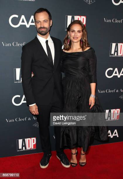 Choreographer Benjamin Millepied and actress Natalie Portman attend LA Dance Project's Annual Gala at LA Dance Project on October 7 2017 in Los...