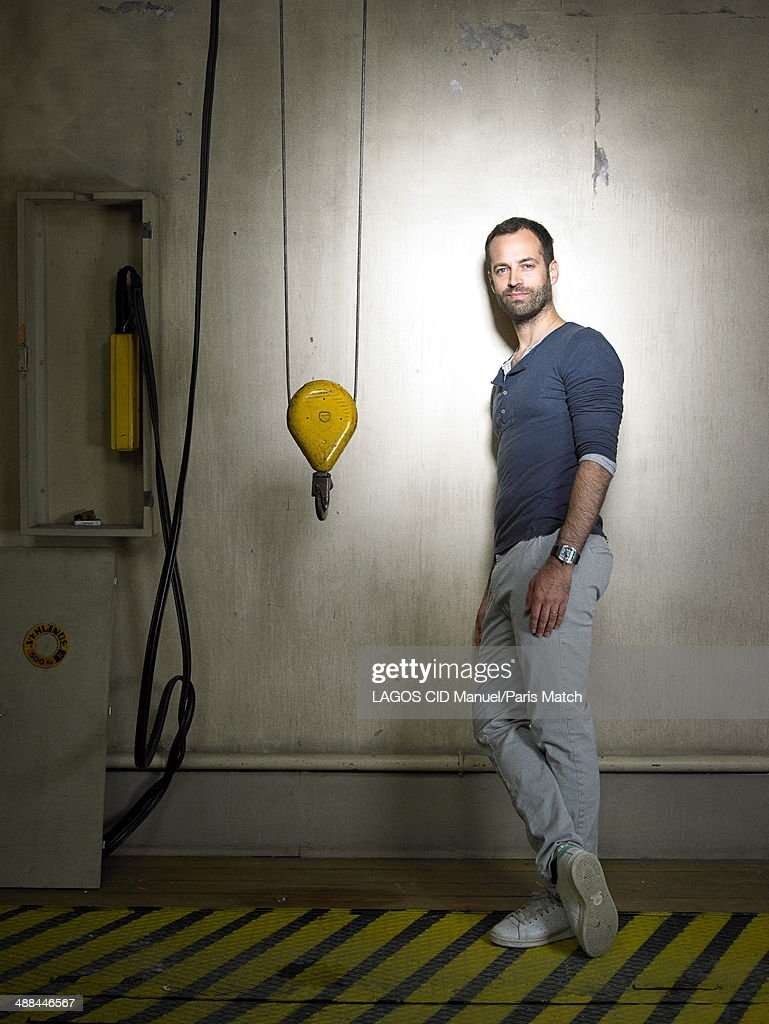 Choreographer <a gi-track='captionPersonalityLinkClicked' href=/galleries/search?phrase=Benjamin+Millepied&family=editorial&specificpeople=6539957 ng-click='$event.stopPropagation()'>Benjamin Millepied</a> is photographed for Paris Match on April 17, 2014 in Paris, France.