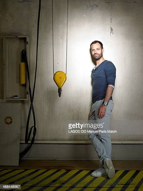 Choreographer Benjamin Millepied is photographed for Paris Match on April 17 2014 in Paris France