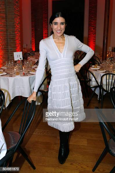 Choreographer Blanca Li attends the 'Jean Nouvel and Claude Parent Musees a venir' Exhibition Opening at Galerie Azzedine Alaïa on January 13 2016 in...