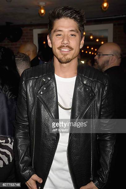 Choreographer Bryan Tanaka attends MARIAH'S WORLD Viewing Party at Catch on December 4 2016 in New York City